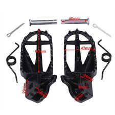 STEEL FOOTPEGS for PIT BIKE SSR PITSTER PRO COOLSTER CRF50 SDG su02