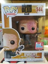 Funko Pop Dwight Burned Face Walking Dead 2017 NYCC Fall Convention Exclusive
