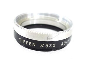 33mm to Series V (5) Tiffen Adapter Ring 530 - with Retaining Ring - PERFECT