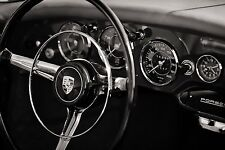 PORSCHE 356 Cockpit Print: Poster  Art Print/ Photography NEW