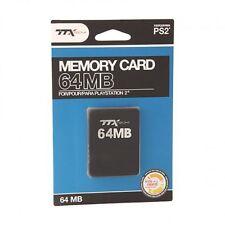 PS2 - Memory Card - 64MB (TTX Tech)