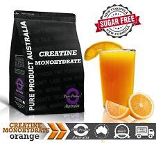 1KG PURE CREATINE MONOHYDRATE HPLC TESTED ORANGE  Flavour