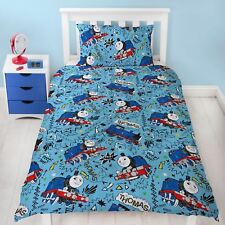 THOMAS THE TANK ENGINE SINGLE DUVET COVER SET NEW TRAIN