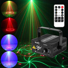 New MINI LED Stage Lighting RG24 Gobos Laser Projector Disco Party Club DJ Light
