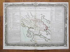 Mornas Atlas Large Map Greece Thessalia - 1762