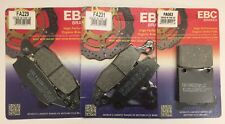EBC Organic FRONT and REAR Brake Pads Fits SUZUKI SV650 / SV650S (1999 to 2002)