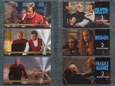 STAR TREK GENERATIONS FOIL AND CHASE CARDS