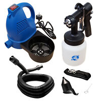 Electric Paint Sprayer Spray Gun Indoor Varnish Lacquer Fence Garden Wall Stain