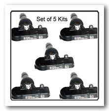 Set 5 Kits TPMS Tire Pressure Monitoring Sensor 433MHZ Fits CHRYSLER DODGE JEEP