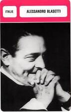 FICHE CINEMA :  ALESSANDRO BLASETTI -  Italie (Biographie/Filmographie)