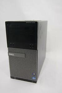 Dell Optiplex 3010 MT Intel Core i3-3220 3.3GHz 4GB RAM 500GB HDD Windows 10 Pro