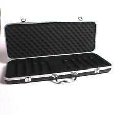 More details for 500 piece empty plastic poker chip case with strong handle & lock