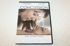 Concussion, WIFE. MOTHER. ESCORT (DVD, 2014), Robin Weigert, Maggie Siff, New