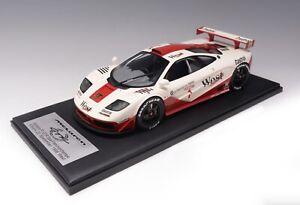 "1/12 scale Mclaren F1 GTR 1996 Spa Francorchamps ""West "" Leather Fiber Base"