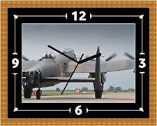 Lancaster Bomber RAF Reloj Regalo Presente Navidad Cumpleaños (personalizable)