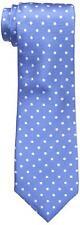 $124 COUNTESS MARA Men's BLUE DOT CLASSIC SILK NECK TIE SKINNY NECKTIE 59x3