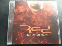 RED  -  END  OF  SILENCE   ,   CD   2006,   ROCK ,  CHRISTIAN  METAL