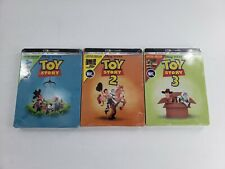 Toy Story 4K Steelbook Lot 3 Movies Brand New Sealed 1 2 3
