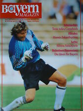 Programm 1991/92 FC Bayern München - Bayer Leverkusen