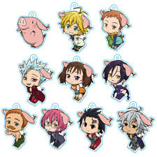 Seven Deadly Sins - Ninishippo Keychain Blind Box (10 Possible Styles) One Blind