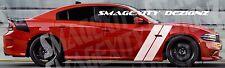 Custom Decal Graphic Vinyl Racing Stripe Charger RT SRT hash HEMI 392 Scat Pack
