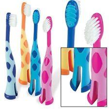 NEW!! GIRAFFE Toothbrush  X1  Kids  COLOUR SENT RANDOMLY ONE BRUSH ONLY