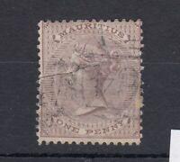 Mauritius Seychelles QV 1863 1d SGZ14 Fine Used Cat £130 J5852