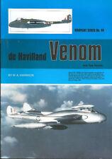 WARPAINT 44 de HAVILLAND DH.112 VENOM FB NF FAW RAF RN FAA RNZAF SWEDEN RAN AERO