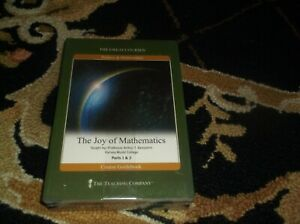 The Great Courses, The Joy of Mathematics - 4 DVDs & Course Guidebook - SEALED