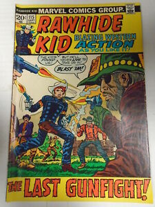 Marvel RAWHIDE KID #115 (1973) Western, Larry Lieber