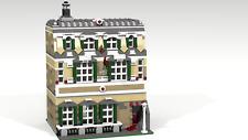 Lego MOC Modular City House PDF Instructions