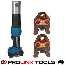 Zupper EZ-1528 Battery Press Tool Bushpex Duopex Flowpex Procrimp Propex PSC Pex