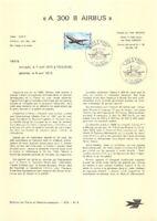 1e jour Timbre sur document philatélique- A 300 B Airbus