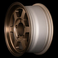 "ROTA WHEELS GRID TYPE X 15"" DIAMETER SPEED BRONZE SIZE&OFFSET 15x7+0 PCD 5x139.7"