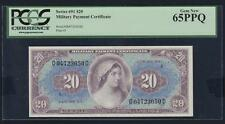 US Military Payment Certificates 20 Dollars Series 691 PCGS 65PPQ