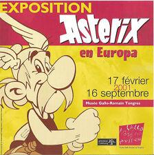UDERZO/GOSCINNY: ASTERIX. Pub. papier Exposition Astérix en Europa (2001)