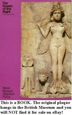Babylon Mesopotamia Goddess Ishtar Lilitu Biblical Lilith 1800BC Shrine Plaque