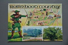 R&L Postcard: Robin Hood Country Sherwood Forest