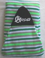 ANTICORP STRETCH SURFBOARD SOCK COVER 7FT GREEN GRY - HI QUALITY MADE IN TAIWAN