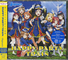 AQOURS-LOVE LIVE! SUNSHINE!! 3RD SINGLE: HAPPY PARTY TRAIN-JAPAN CD+DVD E25