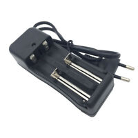 18650 Battery Charger Smart Li-ion Rechargeable 2 slots EU Plug for 10440 17650