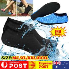 Women Men Water Shoes Aqua Socks Diving Socks Wetsuit Non-slip Swim Beach XXXL