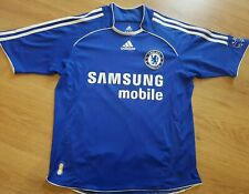 Chelsea FC Samsung Mobile Home Shirt 2006/7 Size large boys