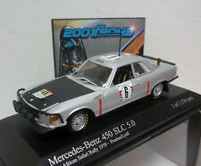 MERCEDES 450 SLC PRESTON #6 SAFARI 1979 1/43 MINICHAMPS