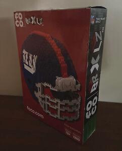 New York Giants NFL 3D BRXLZ Construction Toy Blocks Set - Helmet