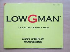NES - MANUAL ONLY - Low G Man
