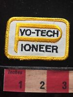 Vtg Vo-Tech Pioneer Patch Vocational Technical School Career Education 71U7