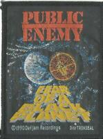 PUBLIC ENEMY fear of black planet 1990 - WOVEN SEW ON PATCH - no longer made