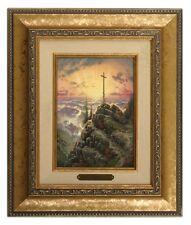 Thomas Kinkade Sunrise 5 x 7 Framed Brushwork (Gold Frame)