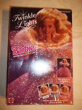 NIB NRFB Twinkle Lights BARBIE 1993 3+
